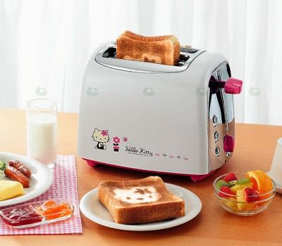 TwinBird TS-4654KT Hello Kitty Toaster