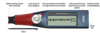 Wizcom Quicktionary TS Portable Scanning Translator