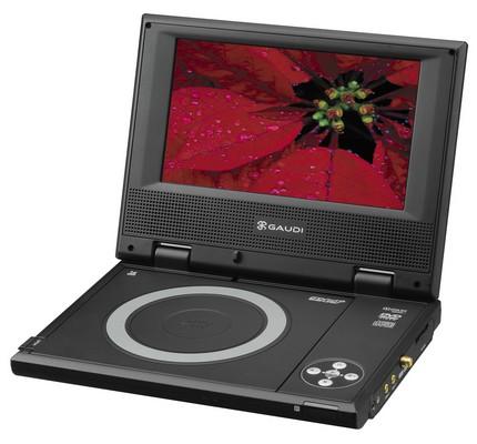 Green House Gaudi GHV-PDV751ST Portable 1Seg TV / DVD Player