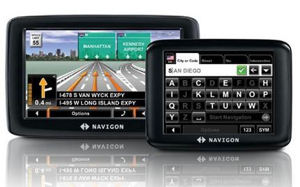 Navigon 5100 max and 2090S Personal Navigation Devices