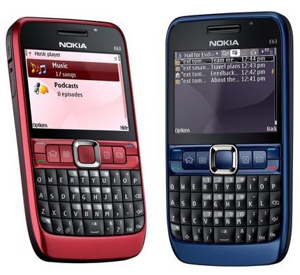 Nokia E63 business Smartphone