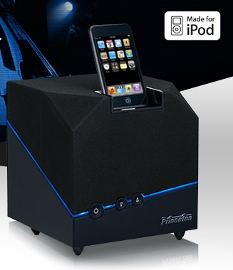 Princeton Jive Box iPod Dock Speaker