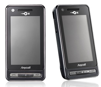 Samsung Anycall SPH-W6050 Touch Phone for LGT