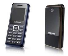 Samsung E1110 and E2510 Entry-level Phones