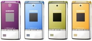 Samsung M3110 Music Phone in 4 Colors