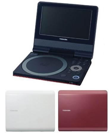 Toshiba SD-P73SW Portable DVD Player