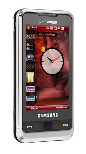 Verizon Samsung Omnia smartphone