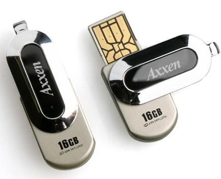 Axxen SKY LUX Ultra Slim USB Flash Drive