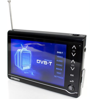 Hyundai HM-T4300E Portable DVB-T TV