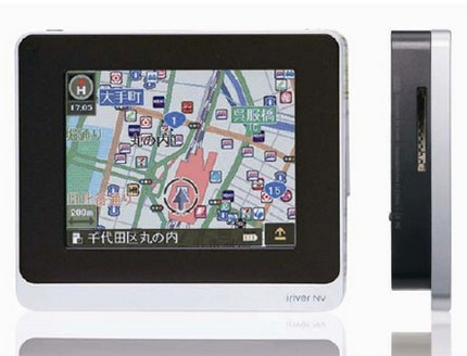iRiver CaroNavi Portable GPS Device