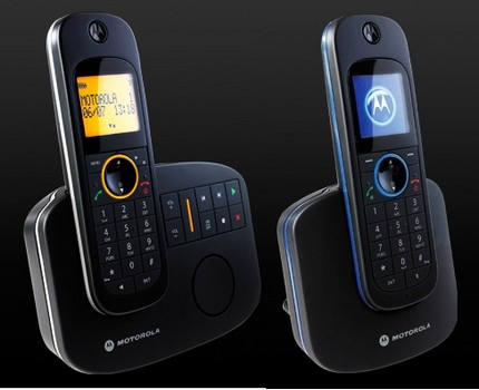 Motorola D10 and D11 Digital Cordless Phone