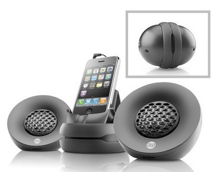 Philips DLO-PH-000004 Portable iPod Speakers
