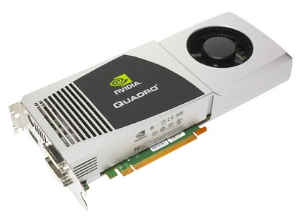 PNY NVIDIA Quadro FX 5800 and FX 4800 high-end Graphic Cards