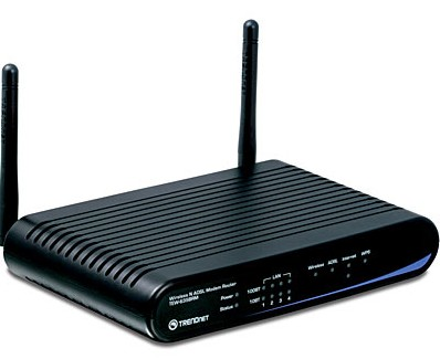 TrendNet TEW-635BRM 300Mbps Wireless N ADSL2/2+ Modem Router