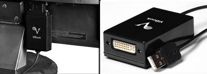 ViBook DisplayLink USB-to-DVI Adapter