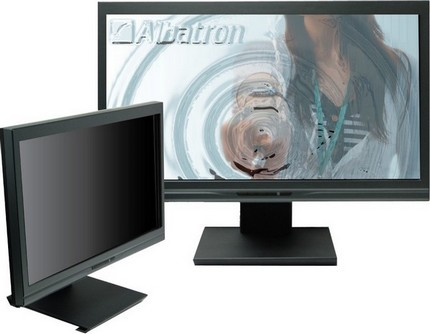 Albatron Optical Touch Monitor does Multi Touch