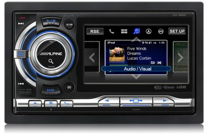 Alpine iXA-W404 Touchscreen Digital Media Station
