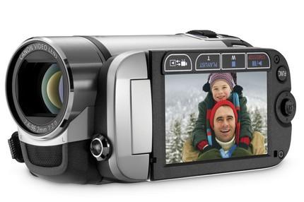 Canon FS21 16GB Flash memory camcorder