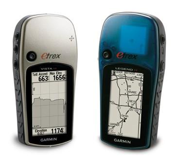 Garmin eTrex Vista H and Legend H Handheld GPS