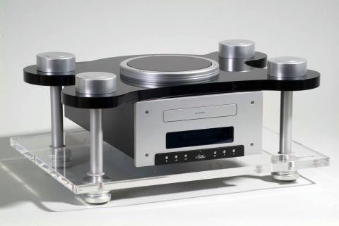 Goldenote Stibbert Tube CD player