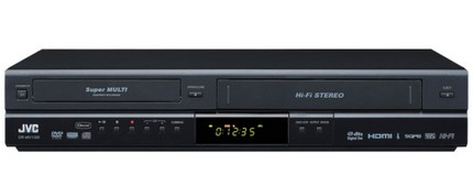 JVC DR-MV80B and DR-MV150B DVD/VCR Recorders