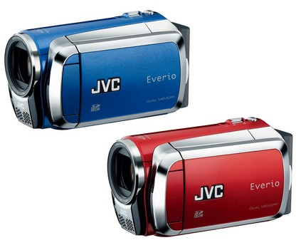 JVC Everio GZ-MS130 and GZ-MS120 Flash Camcorders