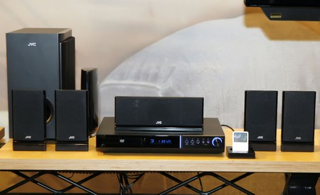 JVC H-G51 ipod home theater system