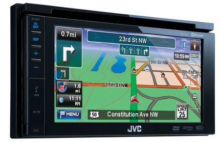 JVC KW-NT1 AV Navigation System for Cars