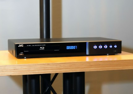 JVC XV-BP1 Blu-ray player does AVCHD playback