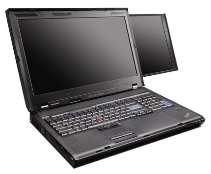 Lenovo ThinkPad W700ds Now Official