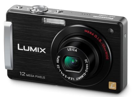 Panasonic Lumix DMC-FX580 Touchscreen Camera