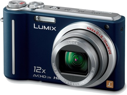 Panasonic Lumix DMC-ZS3 10MP Digital Camera with 12x Wide Angle MEGA Optical Image Stabilized Zoom and 3 inch LCD (Blue)