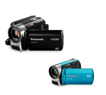 Panasonic SDR-H90 and SDR-S26 70X Zoom Camcorders