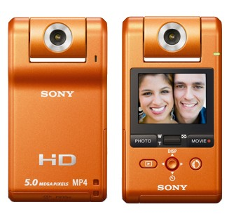 Sony Webbie HD MHS-PM1 Camcorder