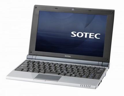 Sotec C102 Netbook with WiFi-n