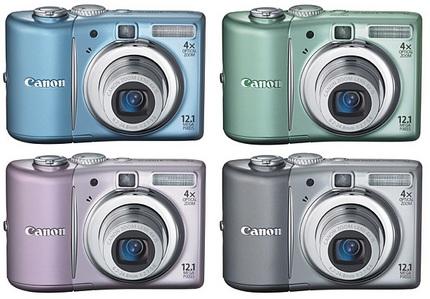 Canon PowerShot A1100 IS digital camera