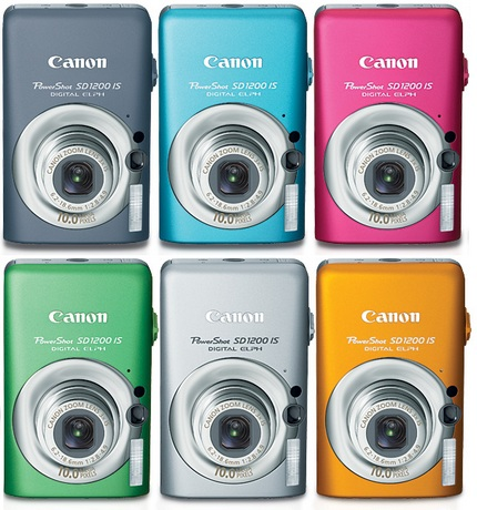 Canon PowerShot SD1200 IS Digital ELPH camera