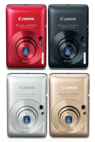 Canon PowerShot SD780 IS Digital ELPH camera