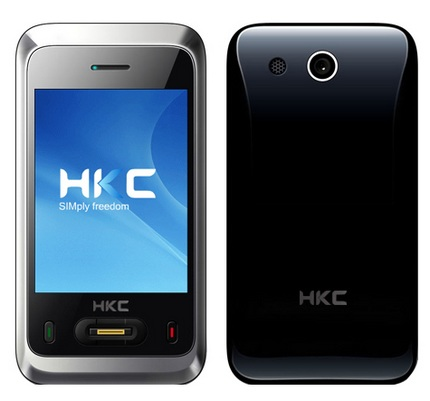 HKC Mopad 8E Smartphone with DVB-H and GPS
