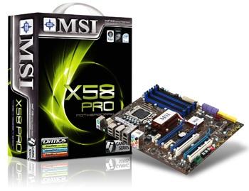 MSI X58 Pro Core i7 Mainboard