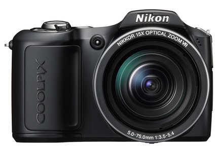 Nikon CoolPix L100 Camera with 15x optical zoom