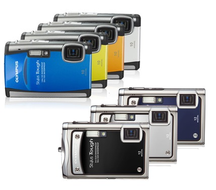 Olympus STYLUS TOUGH-8000 and TOUGH-6000 Rugged Cameras