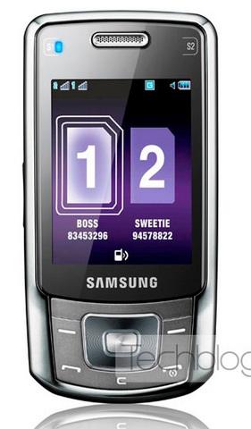Samsung B5702 Dual SIM Slider