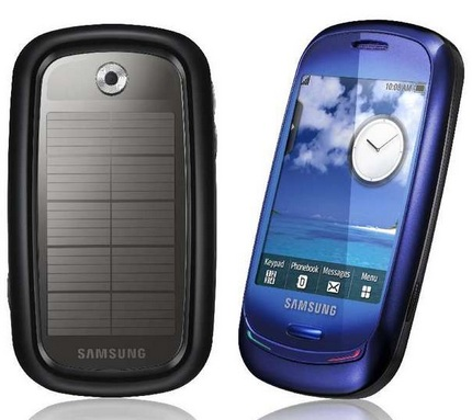 Samsung Blue Earth Solor Power Mobile Phone