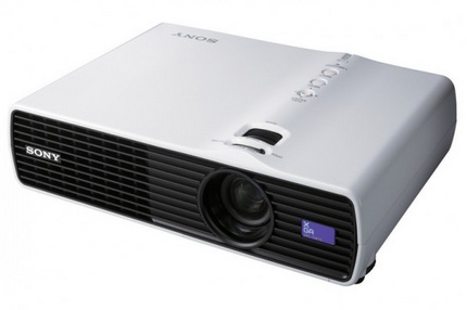Sony VPL-DX15, VPL-DX11, and VPL-DX10 3LCD projector