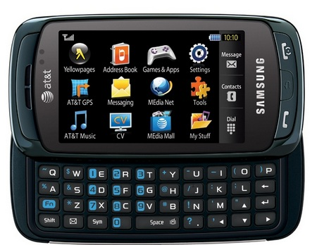 AT&T Samsung A877 QWERTY Touch Phone