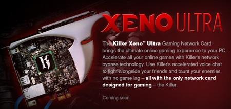 Bigfoot Killer Xeno Ultra Gaming network NIC