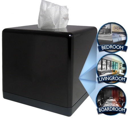 BrickHouse Tissue Box Hidden Camera DVR