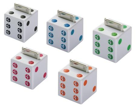 buffalo-kokuyo-otokoro-bssp05i-dice-shaped-ipod-speakers