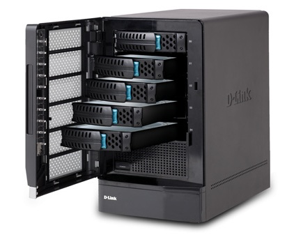 D-Link xStack DSN-1100 iSCSI SAN Array Enclosure
